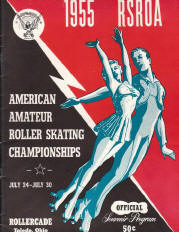 1955 National Roller Skating Championship Program