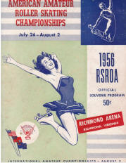 1956 National Roller Skating Championship Program