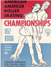 1957 National Roller Skating Championship Program