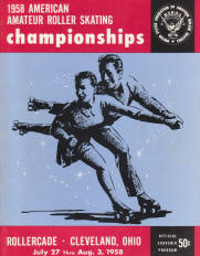 1958 National Roller Skating Championship Program