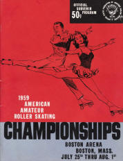 1959 National Roller Skating Championship Program
