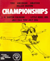 1960 National Roller Skating Championship Program