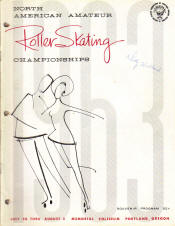 1963 National Roller Skating Championship Program