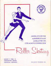 1964 National Roller Skating Championship Program