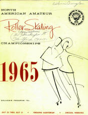 1965 National Roller Skating Championship Program