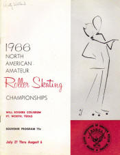 1966 National Roller Skating Championship Program