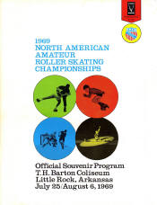 1969 National Roller Skating Championship Program