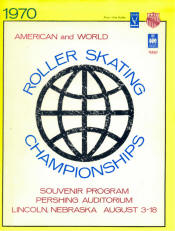1970 National Roller Skating Championship Program