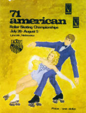 1971 National Roller Skating Championship Program