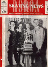 Skating News -  April, 1945
