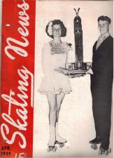Skating News -  April 1949