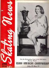 Skating News -  April 1950