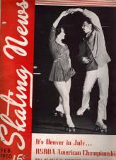 Skating News -  February 1950