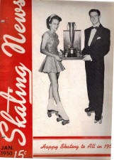 Skating News -  January 1950
