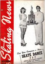 Skating News - November 1950