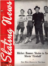 Skating News -  October 1950