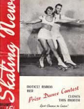 Skating News - Februrary 1951