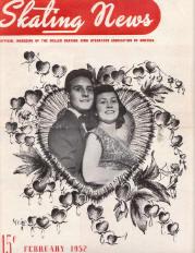 Skating News - Februrary 1952