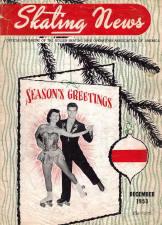 Skating News -  December 1953