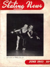 Skating News -  June 1953