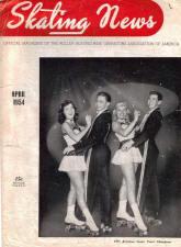 Skating News -  April 1954
