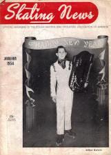 Skating News -  January 1954