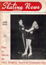 Skating News -  June 1954