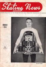 Skating News -  March 1954