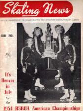 Skating News -  May 1954