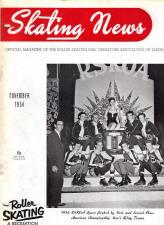 Skating News -  November 1954