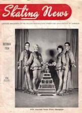 Skating News -  October 1954