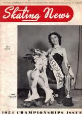 Skating News -  September 1954