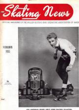 Skating News -  February 1955