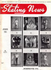 Skating News -  January 1955