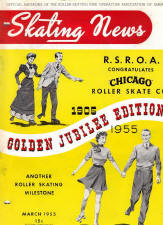 Skating News -  March 1955