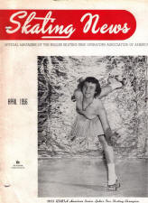 Skating News - April 1956