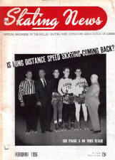 Skating News - February 1956