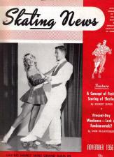 Skating News - November 1956