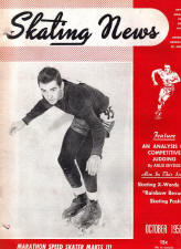 Skating News - October 1956