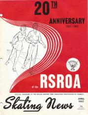 Skating News - April 1957