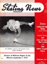 Skating News - February 1957