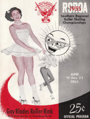 1955 Southern Regional Roller Skating Championship Program