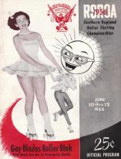 1956 Southern Regional Roller Skating Championship Program