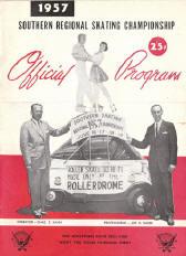 1957 Southern Regional Roller Skating Championship Program
