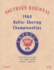 1960 Southern Regional Roller Skating Championship Program