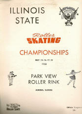 1958 Illinois State Championship Program