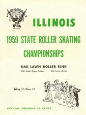 1959 Illinois State Championship Program Cover