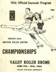1966 Kentucky State Championship Program Cover