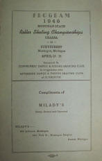 1946 Michigan State Championship Program