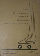 1960 RSROA Michigan State Championship Program